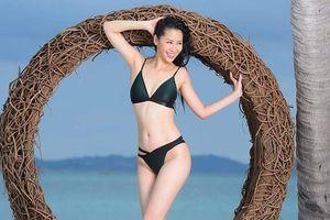 Dương Thùy Linh nóng bỏng với bikini, trao lại vương miện cho người kế nhiệm