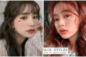 1 phút tạo kiểu tóc mái 'bong bóng' sang chảnh như gái Hàn, nàng ngắm xong phải mất ngủ vì quá đẹp