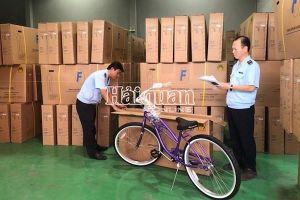 Tiếp tục phát hiện hàng giả mạo xuất xứ Việt Nam, lần này là lô xe đạp xuất sang Mỹ
