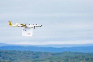 Giao hàng bằng drone, tương lai của ngành giao vận