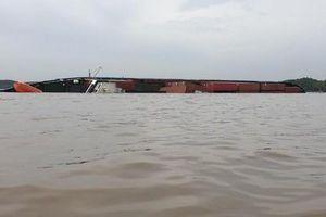 Khẩn trương khắc phục sự cố chìm tàu tại phao số 28 luồng Sài Gòn-Vũng Tàu