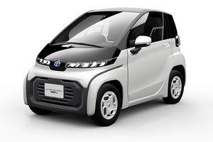 Toyota ra mắt ôtô điện hai chỗ ngồi siêu nhỏ