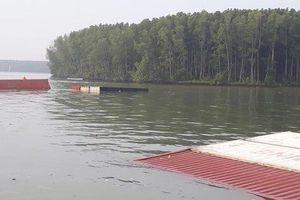 Thủ tướng yêu cầu ứng phó sự cố tràn dầu từ tàu chở 285 container bị chìm ở Cần Giờ