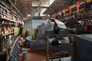 Hải quân Nga chuẩn bị tiếp nhận chiến hạm tàng hình có thời gian đóng lâu kỷ lục