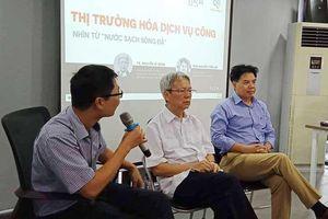 Thị trường hóa dịch vụ công nhìn từ 'Nước sạch sông Đà'