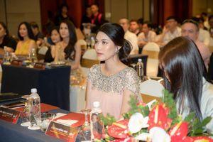 Lan Khuê mang bụng bầu chọn đại diện Việt Nam thi hoa hậu