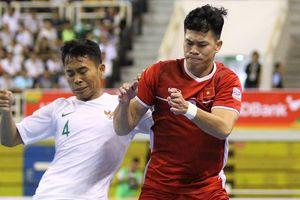 Phung phí cơ hội, tuyển futsal Việt Nam hòa Indonesia
