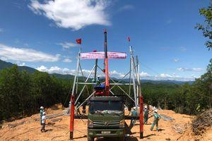 Đường dây 500kV mạch 3: Một số hạng mục xây lắp đạt và vượt tiến độ