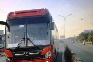 Tìm thân nhân người phụ nữ tử nạn dưới bánh xe khách ở Tiền Giang