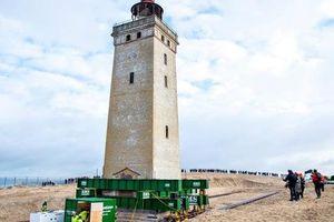 'Thần đèn' dời ngọn hải đăng 120 tuổi