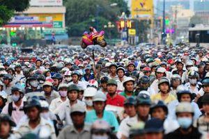 Dân số TP HCM xấp xỉ 9 triệu người
