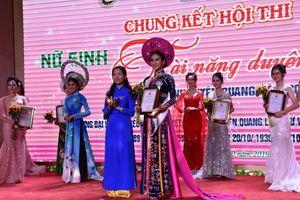 Nhan sắc hoa khôi Nữ sinh tài năng duyên dáng Tuyên Quang 2019