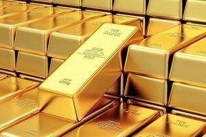Giá vàng tiếp tục giảm xuống mức thấp