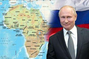 Nga kích hoạt cuộc chơi mới tại châu Phi