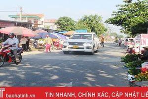 Kiểm tra trật tự ATGT tại Can Lộc, Đức Thọ và Thạch Hà: Đi đến đâu thấy vi phạm đó