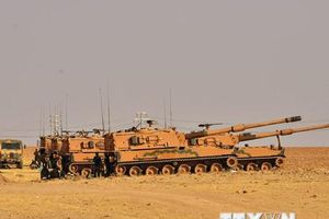 Thổ Nhĩ Kỳ dựng trạm quan sát gần thị trấn biên giới Ras al-Ain