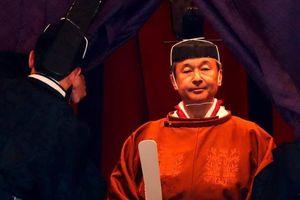 Nhật hoàng Naruhito đăng quang trong nghi lễ truyền thống