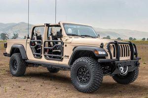 Jeep Gladiator XMT dành riêng cho quân đội, dân thường không thể mua