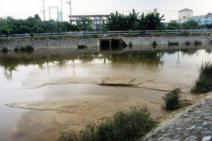 Nghệ An: Nhà máy nước xả bùn thải đặc ra hồ điều hòa