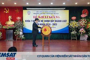Trường ĐHKS Hà Nội khai giảng Khóa 7 hệ Đại học chính quy ngành Luật, niên khóa 2019-2023