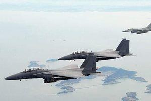 Hàn Quốc triển khai chiến đấu cơ chặn máy bay Nga