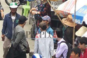 Băng móc túi khu Suối Tiên dọa đánh chết phóng viên