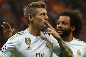Kroos sánh ngang Ronaldo khi giúp Real giành chiến thắng