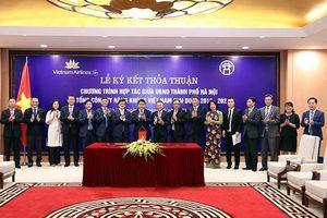 TP Hà Nội và Tổng công ty Hàng không Việt Nam ký kết thỏa thuận hợp tác giai đoạn 2019-2024