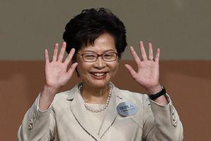 Giữa 'bão' biểu tình, Trung Quốc định thay Đặc khu trưởng Hong Kong?