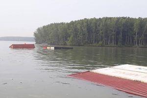 Vụ chìm tàu ở Cần Giờ: 60m3 dầu đã được đưa ra khỏi tàu