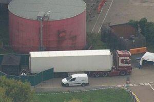 Anh: Phát hiện 39 thi thể trong một containter hàng tại Essex