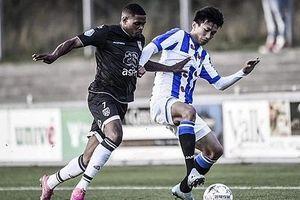 Văn Hậu có 1 kiến tạo thành bàn trong ngày đội trẻ Heerenveen đại thắng