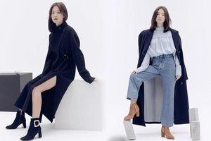 Song Hye Kyo trang điểm sương sương, 'lên đồ' cực chất