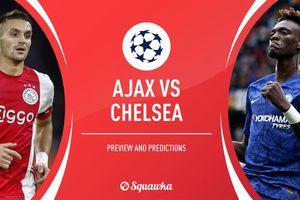 Ajax vs Chelsea: Thết đãi tiệc tấn công