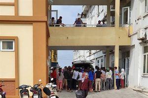Nam Định: Công nhân công ty GoldenVictory tiếp tục buồn nôn chóng mặt khi đang làm việc