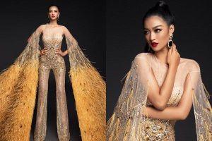 Mặc jumpsuit trong phần thi trang phục dạ hội, Kiều Loan sáng tạo hay lạc đề tại Miss Grand 2019?