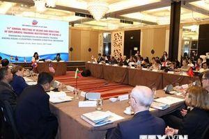 Hội nghị giám đốc và hiệu trưởng các trường đào tạo ngoại giao ASEAN+3
