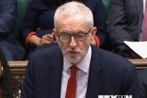Lãnh đạo công đảng hối thúc Thủ tướng Anh trì hoãn việc rời khỏi EU