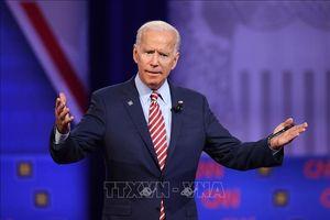 Bầu cử Mỹ 2020: Cựu Phó Tổng thống Joe Biden đạt tỷ lệ ủng hộ lên tới 34%
