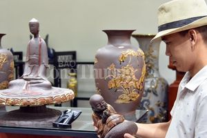 Sức bật làng nghề gốm Giang Cao