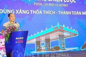 PVOIL và COMECO triển khai phương thức thanh toán điện tử bằng ứng dụng ví MoMo