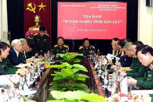 Tọa đàm 70 năm Ngày truyền thống quân tình nguyện và chuyên gia Việt Nam tại Lào