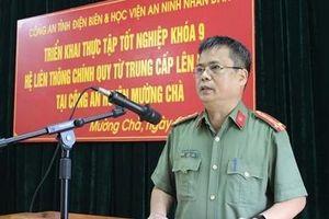 Học viện ANND thực tập tốt nghiệp tại Điện Biên