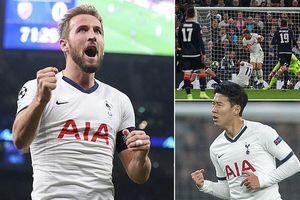 Son Heung Min ghi bàn, Tottenham lần đầu thắng trận ở Champions League