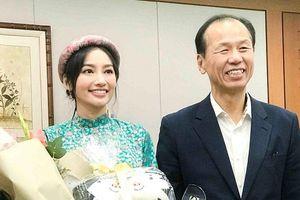 Á hậu Trúc Diễm hào hứng khi trở thành đại sứ du lịch tỉnh Gangwon Hàn Quốc