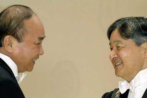 Thủ tướng kết thúc chuyến dự lễ đăng quang nhà vua Nhật Bản