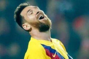 Messi không thể ghi bàn từ cự ly chưa đầy 5 m