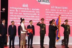Lào trao Huân chương Isala hạng Nhất cho Star Telecom