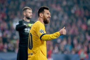 Messi đi vào lịch sử bóng đá châu Âu