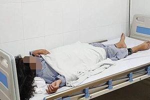 Xót xa bé gái 13 tuổi bị mù mắt, hoại tử da sau khi tiêm filler nâng mũi